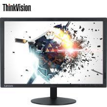 聯想(ThinkVision) T2054f 19.5英寸IPS寬屏電腦液晶顯示器支持壁掛 VGA+DVI接口