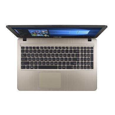 華碩(ASUS)頑石X500UB8250 15.6英寸大屏輕薄商務本便攜本學生筆記本電腦(8代酷睿i5-8250U  4G 1TB硬盤 MX110-2G獨顯 win10 )黑金