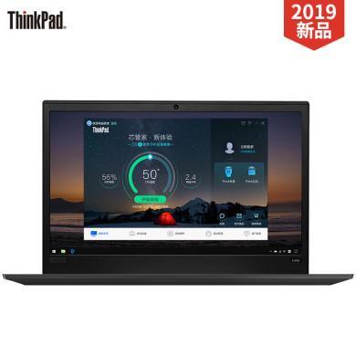 联想 ThinkPad E490 14英寸2019轻薄便携商务办公笔记本电脑 8代四核i5-8265U 4G内存 256G固态硬盘 窄边框设计 高清屏 Win10 定制版