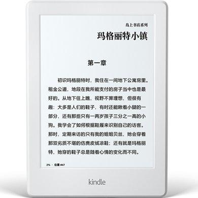 Kindle 電紙書閱讀器 電子書墨水屏 入門款6英寸WIFI白色
