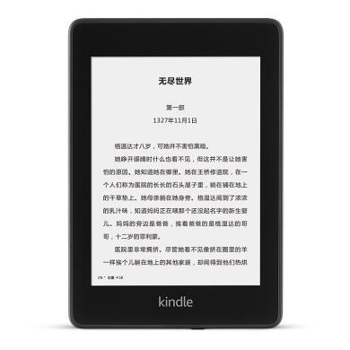全新Kindle paperwhite-4代 电子书阅读器 电纸书墨水屏 经典版第四代 6英寸wifi黑色