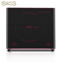 SKG 電陶爐家用電磁爐茶壺爐不挑鍋雙旋鈕數碼速顯1685D 紅色