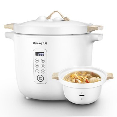 九陽(Joyoung) 電燉鍋北山系列全自動煲湯鍋家用日式陶瓷燉鍋D-35Z2