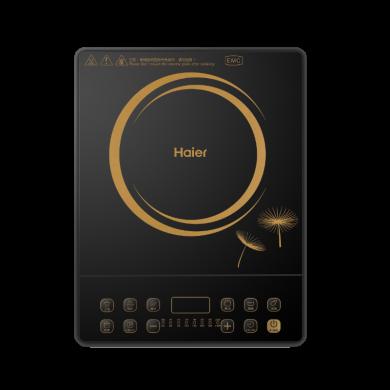 海爾(Haier)電磁爐C21-BK26 黑晶面板 8檔火力 定時預約 速熱防水家用電磁爐 C21-BK26