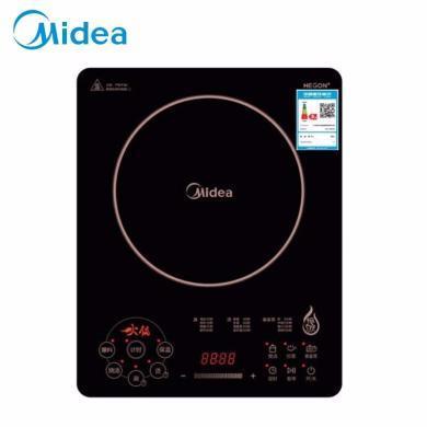 美的(Midea)電磁爐RH2268十檔大火力超薄大面板觸控家用電磁爐火鍋 恒勻火計時功能