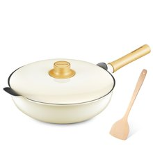 九陽(Joyoung)32cm輕奢派不粘炒鍋電磁爐通用鍋具CLT3255D