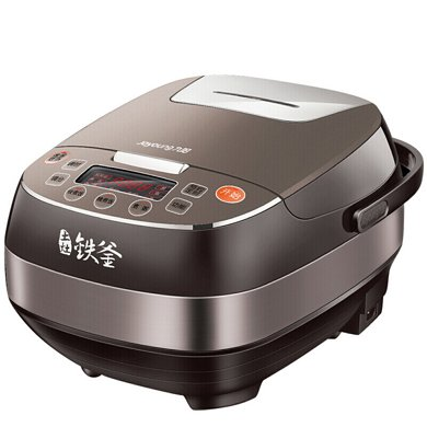 九陽 F-40T12 電飯煲4L家用智能預約土灶鐵釜IH電磁加熱