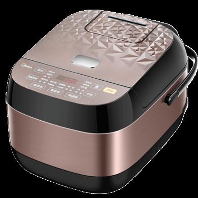 美的(Midea)智能加熱多功能預約電飯煲4L家用2-4-6 電飯鍋 MB-RS4083