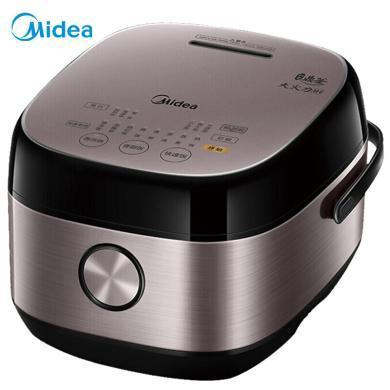 美的(Midea)電飯煲 電飯鍋IH電磁加熱5L大容量智能預約 電飯煲精鋼鼎釜內膽 家用電飯煲 HS5075 BJ