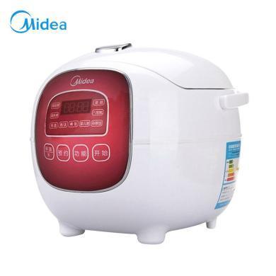 美的(Midea)FS165 迷你電飯煲 1.6L小型 電飯煲 智能電飯鍋 小飯煲 電飯煲1-2-3人 BJ