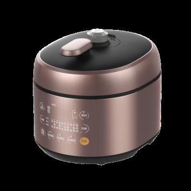 美的(Midea)壓力鍋 電高壓力鍋 5升 不銹鋼內膽 不粘內膽 智能調壓 雙膽 智能收汁 PSS5052P