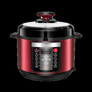 美的(Midea)電壓力鍋YL50V103家用5L智能全自動雙膽高壓鍋電飯煲多功能12小時預約