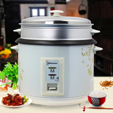 Royalstar/榮事達電飯鍋 RZ-50B電飯煲5升直筒家用電飯鍋飯煲