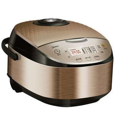 美的(Midea)電飯煲MB-FB40V1(鍋)柴火飯快速飯 智能加熱24h預約 可拆卸上蓋
