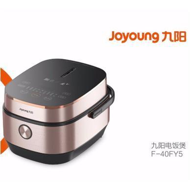 九陽(Joyoung) 電飯煲 4L家用智能電飯鍋 預約加熱電飯煲 全屏鋼化玻璃電飯煲F-40FY5