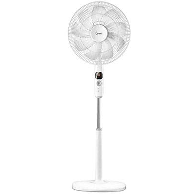 美的(Midea)FS40-17DR 風扇落地電風扇九葉變頻  9片扇葉??厥?白色款