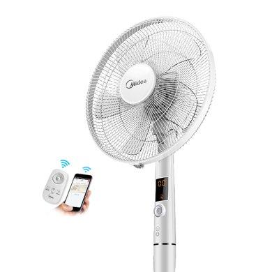 美的 (Midea)  FS40-15AR 电风扇/落地扇/智能家用电风扇/遥控风扇
