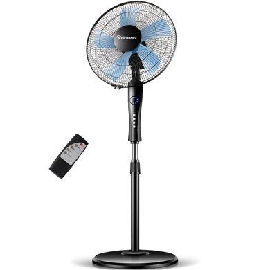 賽億(Shinee)遙控五風葉電風扇/落地扇/五扇葉可升降落地扇FS40-7A