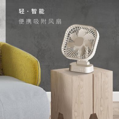 家奈(GENE by HIROSE)USB可充電便攜式小電風扇 廚房臥室辦公室臺式渦輪扇 FS05-18A