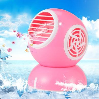 YOICE/优益夏季热销新款可调节卡通usb节能充电香味小风扇迷你无叶香水风扇FS008