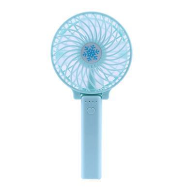Yoice/优益 手持折叠迷你新款小风扇usb儿童办公充电风扇夏季风扇雪花风扇