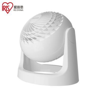 愛麗思(IRIS)日本電風扇家用靜音搖頭小型空氣循環扇