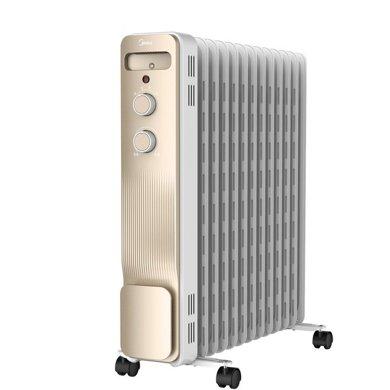 美的(Midea) NY2213-18GW 取暖器/電暖器/電暖氣13片新品電熱油汀