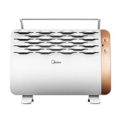 美的(Midea)對衡式暖風機 NDK18-15G 暖風機臥室客廳辦公室防水
