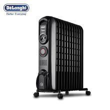 DeLonghi德龙 V551220T 家用急速暖流系列12片电热油汀取暖器