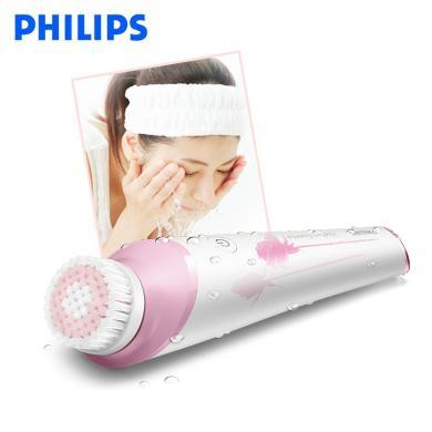 飛利浦(PHILIPS)潔面儀 洗臉儀 美容電動潔面刷 敏感刷頭 女士洗臉刷 洗面儀BSC201/82