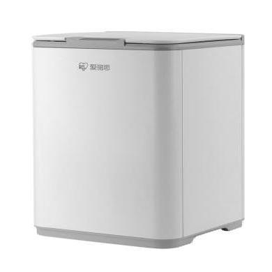 愛麗思IRIS 防水智能感應垃圾桶家用帶蓋客廳臥室衛生間廚房10L