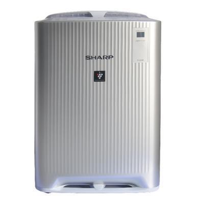 夏普(SHARP) KC-BD20-S 空气净化器 去除甲醛无雾加湿去除异味甲醛除菌 银色