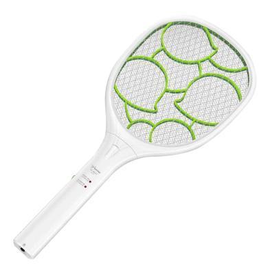 雅格電蚊拍充電式家用強力多功能電池LED燈電蠅打蒼蠅滅蚊子拍(新品 YG-5621)