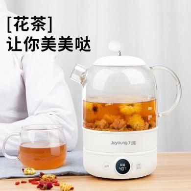 九陽(Joyoung)恒溫水壺養生壺寶寶嬰兒沖奶器泡奶泡茶全自動加厚玻璃電熱燒水壺煮花茶壺 K08-D601