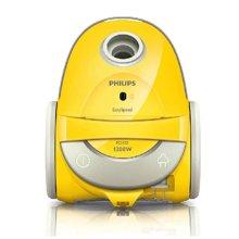 飞利浦(PHILIPS)家用卧式吸尘器FC5122 尘袋式可水洗使用 清洁方便 可水洗滤网 1200W 多功能吸嘴