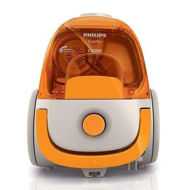 飛利浦(PHILIPS)家用迷你型吸塵器FC8085 強力大功率1200W無耗材塵盒型 強勁吸力輕便小巧避免揚塵吸力調控