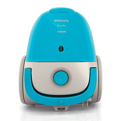 飛利浦(PHILIPS)家用臥式吸塵器FC8082 迷你強勁大功率吸塵機 有塵袋水洗濾網 清潔性能強大帶縫隙吸嘴