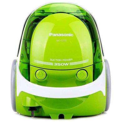 松下(Panasonic) 吸塵器MC-CL521 家用臥式強力地毯大功率小型迷你吸塵機 綠色