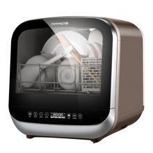 Joyoung/九阳 洗碗机mini免安装中式洗碗机洗烘存一体X5