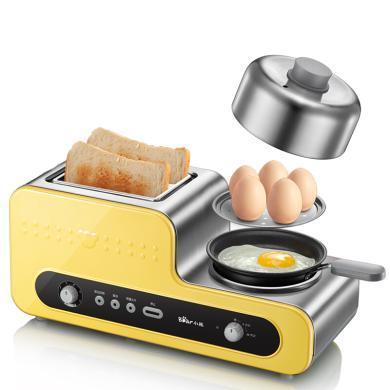 小熊(Bear)烤面包機全自動家用多士爐不銹鋼吐司機早餐機DSL-A02V1