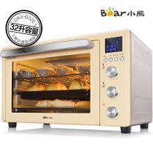 小熊(Bear)电烤箱 电子式家用 智能多功能 32L大容量 烘焙 蛋糕 烤炉箱DKX-B32E1