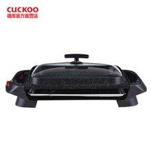 CUCKOO/??饪九藽CG-108M韩式烤肉锅 家用无烟不粘双层多功能电烤盘