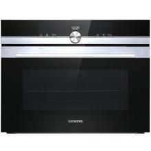 西门子(SIEMENS)电烤箱 CB635GBS1W 4D热风系统 氧化自清洁 原装进口 IQ700系列烤箱