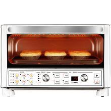 東菱(Donlim)烤箱 16升/L 家用多功能電烤箱 日式烤箱 迷你復古小烤箱 DL-K29 mini烤箱