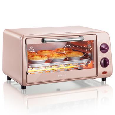小熊(Bear) 電烤箱 多功能家用迷你小型烘焙烤箱10升做蛋糕機器 DKX-A09A1