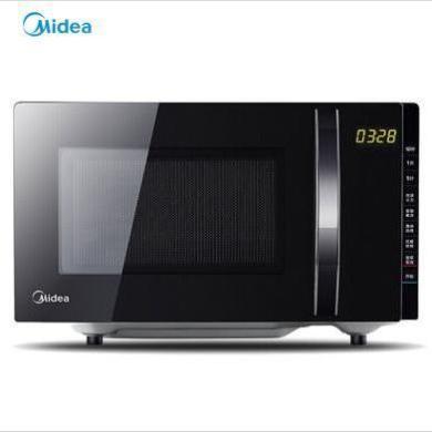 美的(Midea) 微波爐 家用 微波爐 烤箱一體機 平板 M3-L205C(S) 黑色 XW
