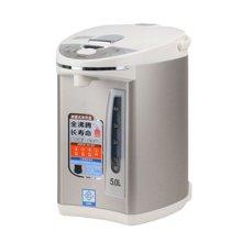 美的(Midea)电热水瓶PF702 50T 大容量双层金属防烫壶身、三重安全?;?5L