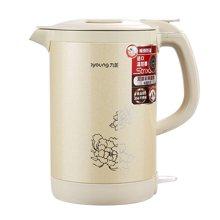 九阳 K15-F2 电热水壶1.5L 开水煲烧水壶 食品级304不锈钢 大容量