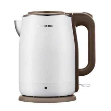 九陽 K15-F5  1.5L電熱水壺食品級304不銹鋼開水煲雙層防燙無縫內膽