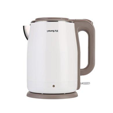 九陽(Joyoung)K15-F5開水煲電熱水壺304不銹鋼自動斷電雙層快速燒